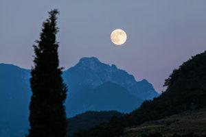 【月】三五夜、十六夜、立待月、隈無し、二夜の月